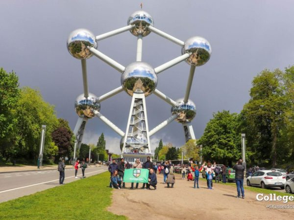 dusseldorf day trip to ghent and atomium