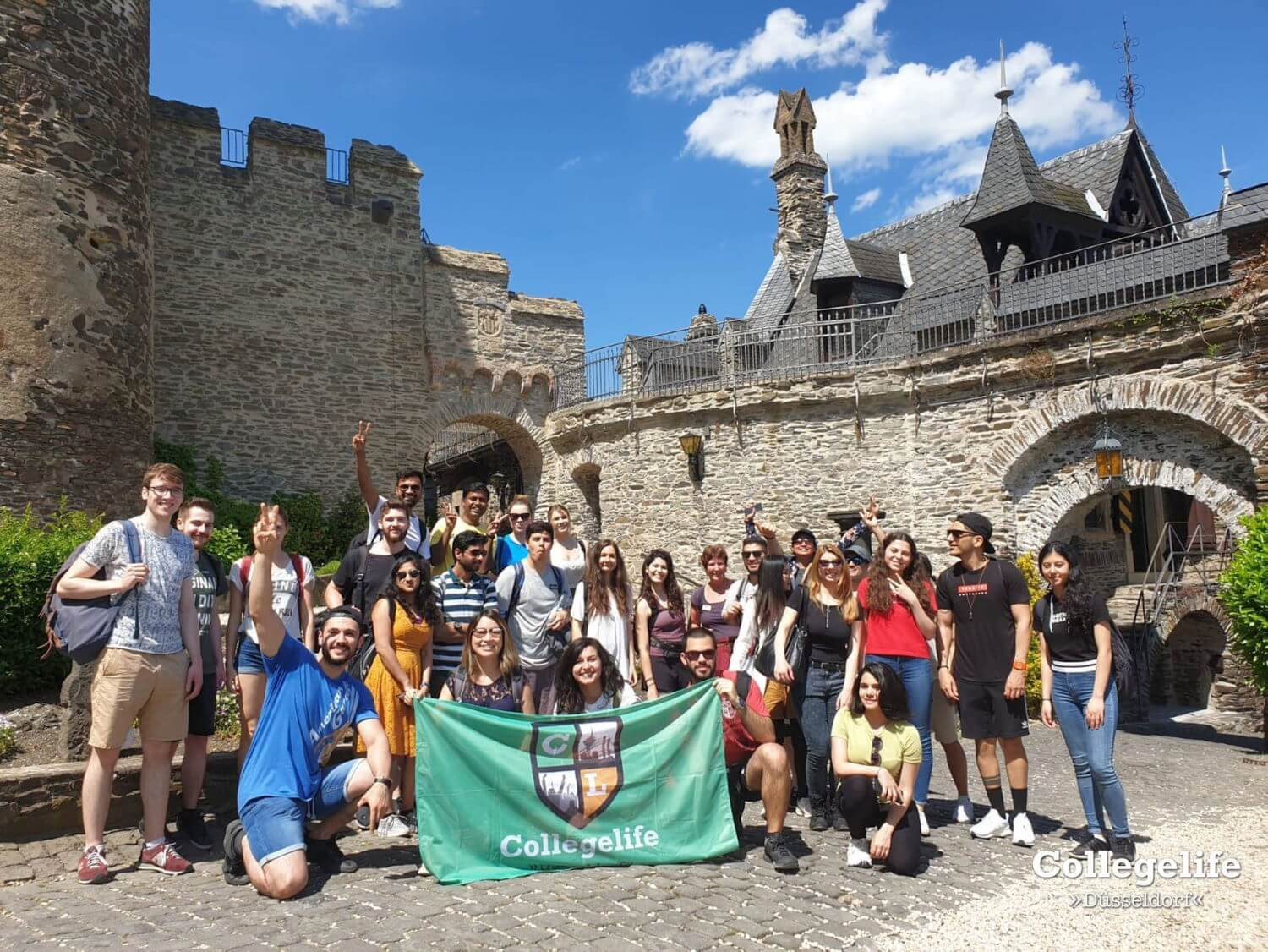 dusseldorf trip to cochem castle group