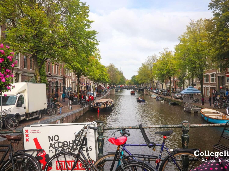 dusseldorf day trip to amsterdam canals