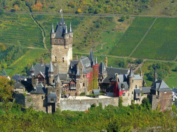 dusseldorf trip to cochem castle