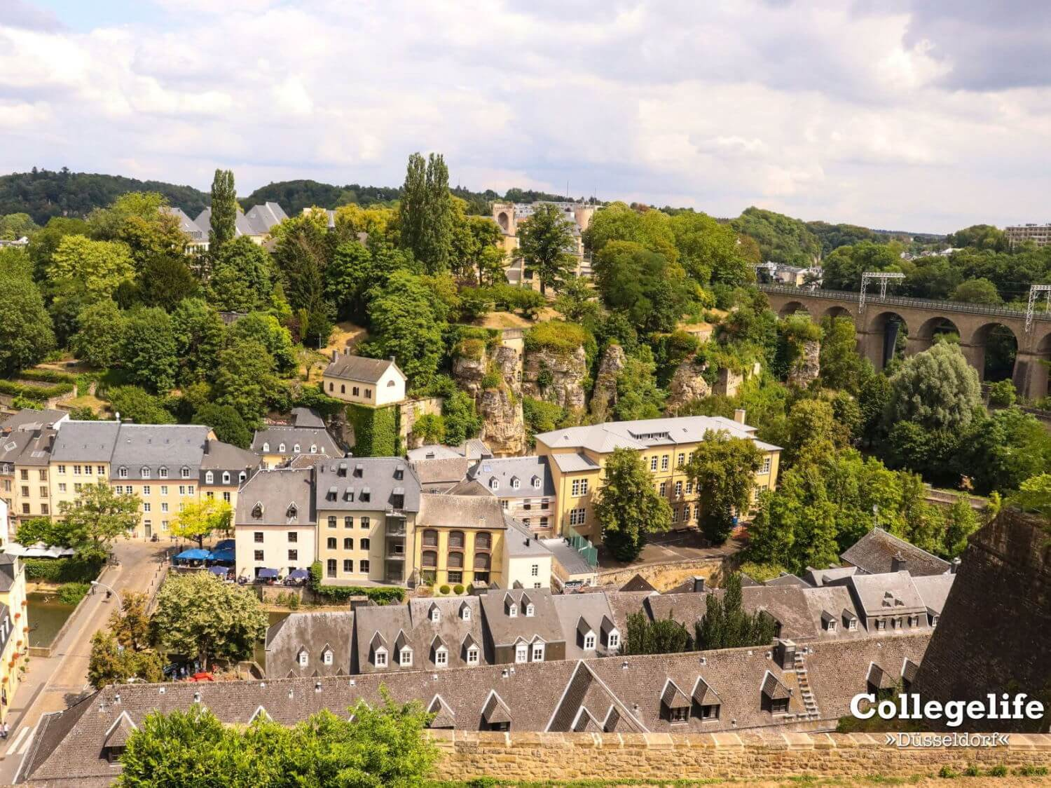 dusseldorf day trip to luxembourg city